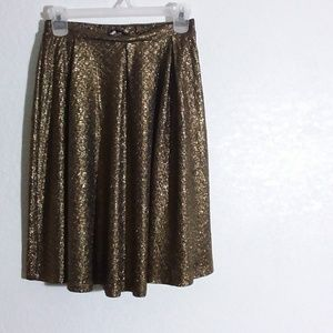 Gold Weave W26 x L23 Skirt